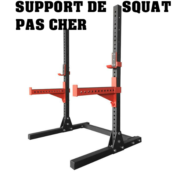 Support de squat pas cher